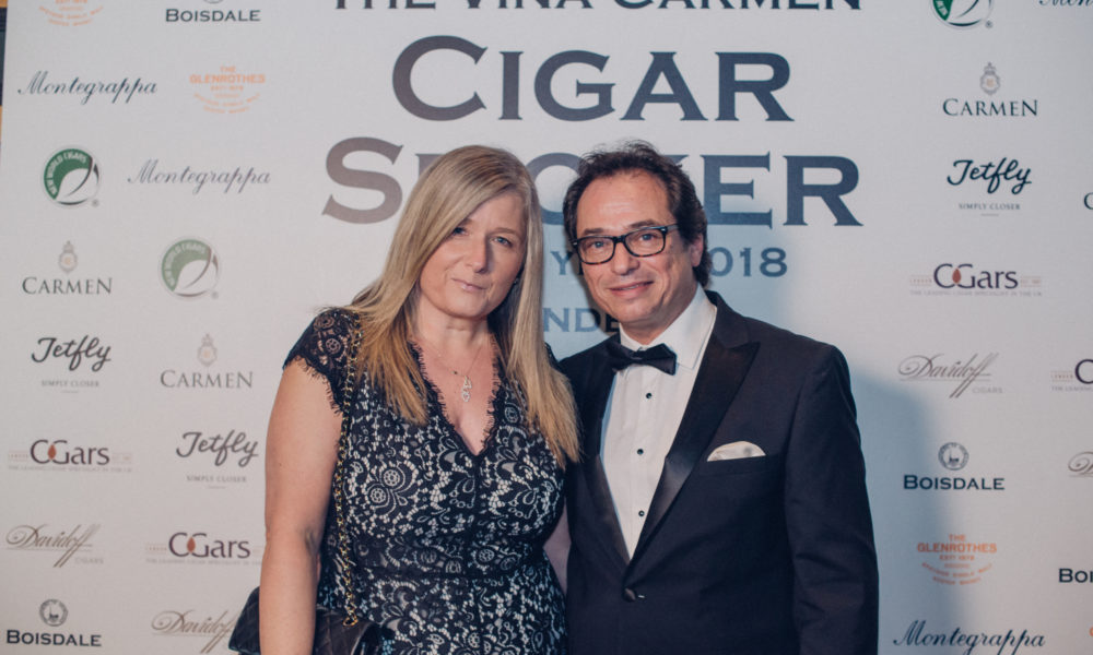 VIÑA CARMEN CIGAR SMOKER OF THE YEAR 2018 FOUNDED BY BOISDALE