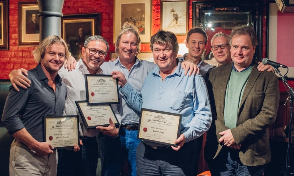 OYSTER CHAMPIONSHIPS 2019 sponsored by  The City of London Distillery