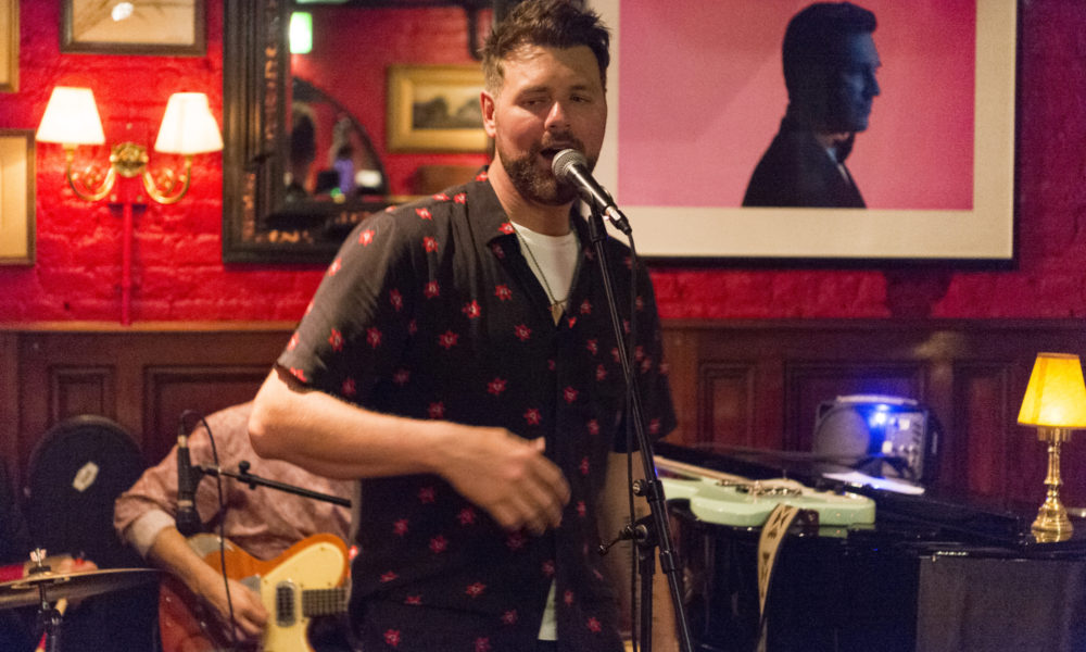 Brian McFadden Unplugged at Boisdale of Bishopsgate