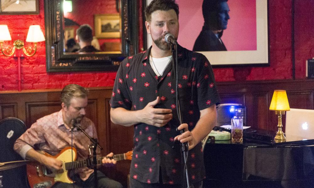 Brian McFadden Unplugged at Boisdale of Bishopsgate