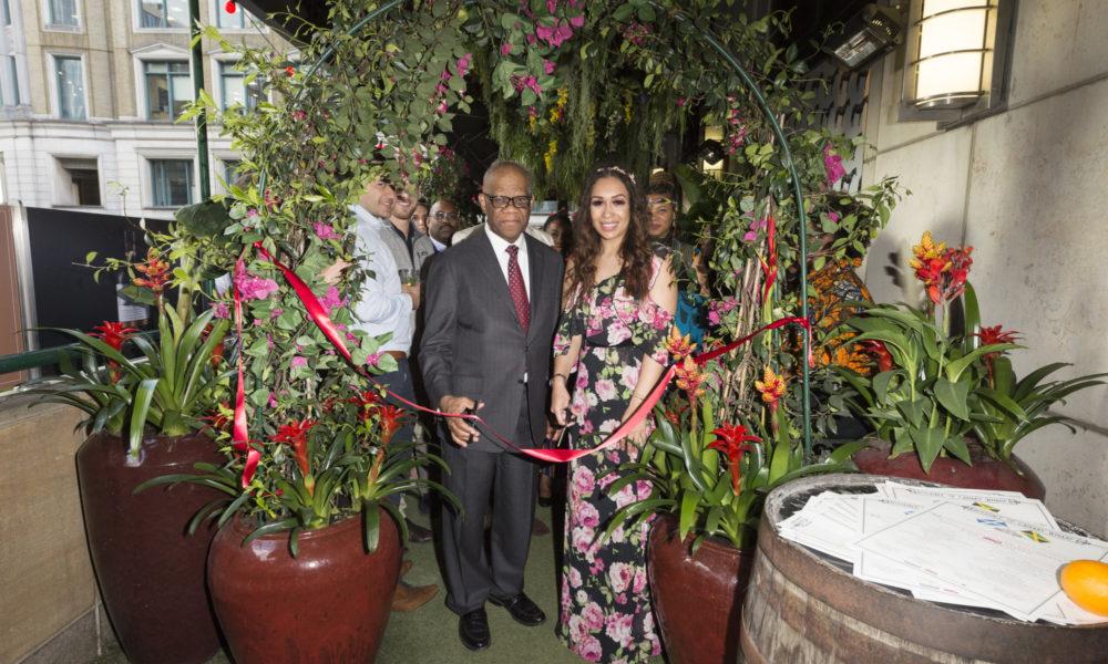 Canary Wharf Flower Show  2019 Exhibit: THE JAMAICA ONE LOVE GARDEN