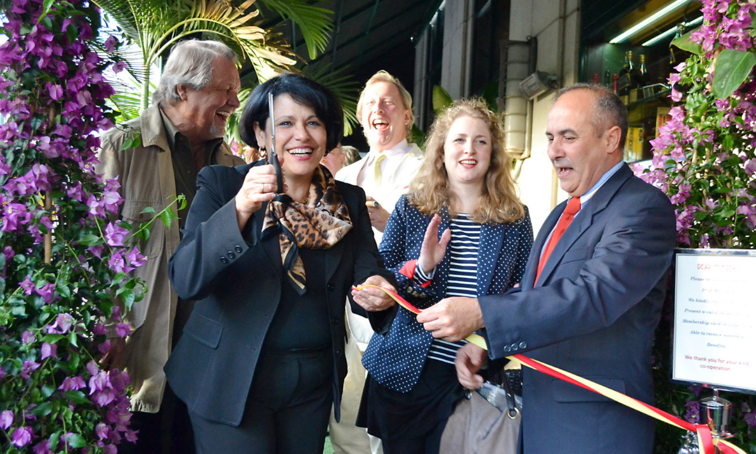 The Boisdale Cuban Garden Terrace Launch