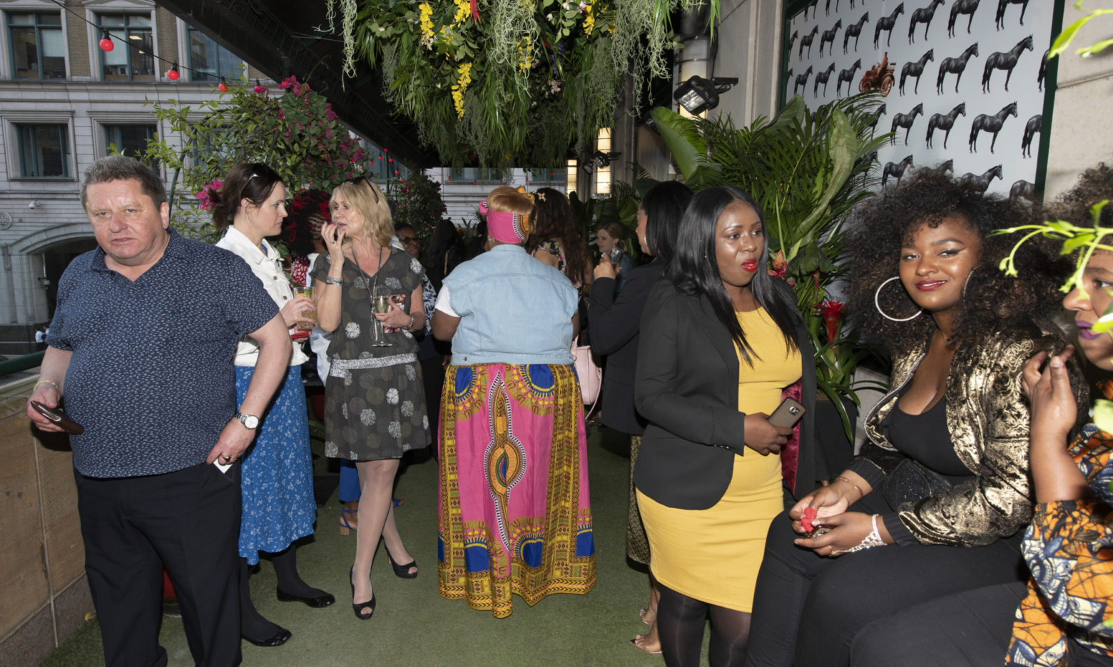 Canary Wharf Flower Show  2019 Exhibit: THE JAMAICA ONE LOVE GARDEN