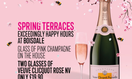 Spring Terraces Exceedingly Happy Hours