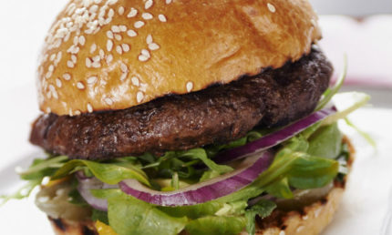 Free classic burger with any pint of beer or glass of wine throughout May