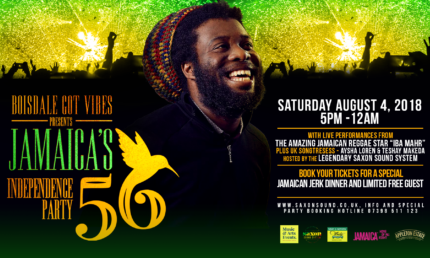 BOISDALE GOT VIBES - JAMAICA 56TH INDEPENDENCE PARTY