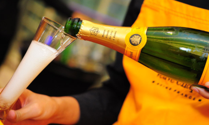 Delicious Veuve Clicquot from £49.50 a bottle