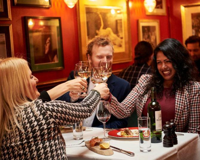VIP 3 or 2 course Gourmet Dinner Menu & Live Music at all Boisdale Restaurants
