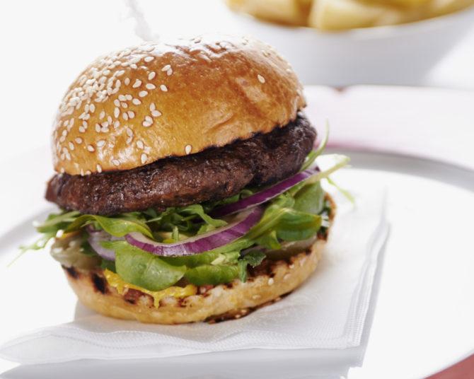 Burger and stunning Terrazas Malbec deal!