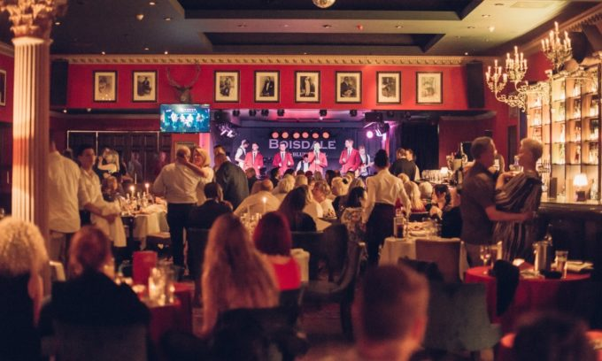 Merry Christmas at Boisdale