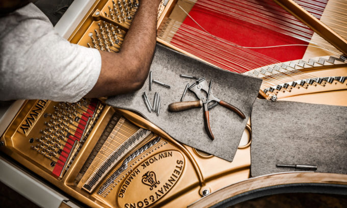 LIFTING THE LID ON STEINWAY