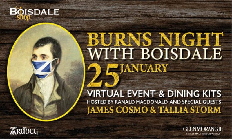 Celebrate Burns Night with Boisdale