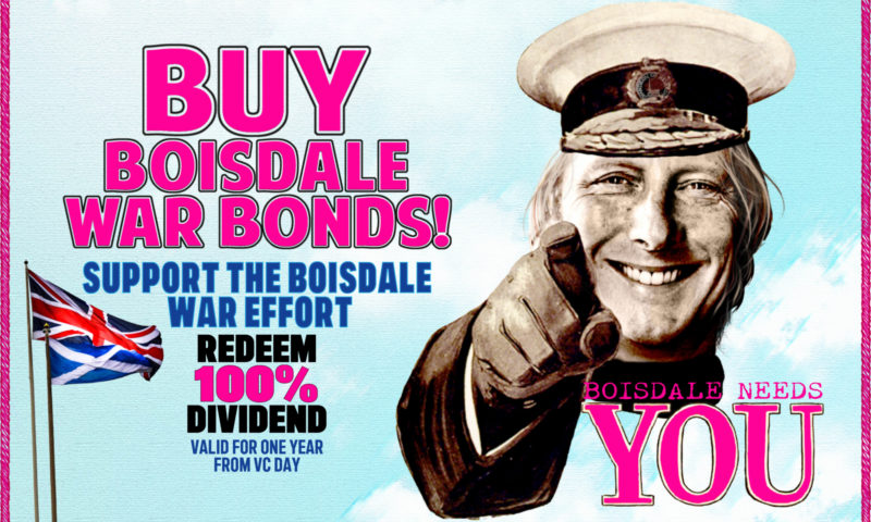 Buy Boisdale War Bonds