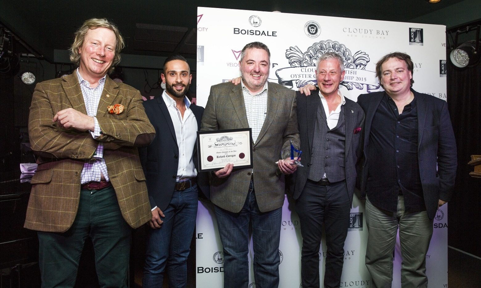 Boisdale & Wright Brothers  The Cloudy Bay British Oyster Championship & Lunch 2015