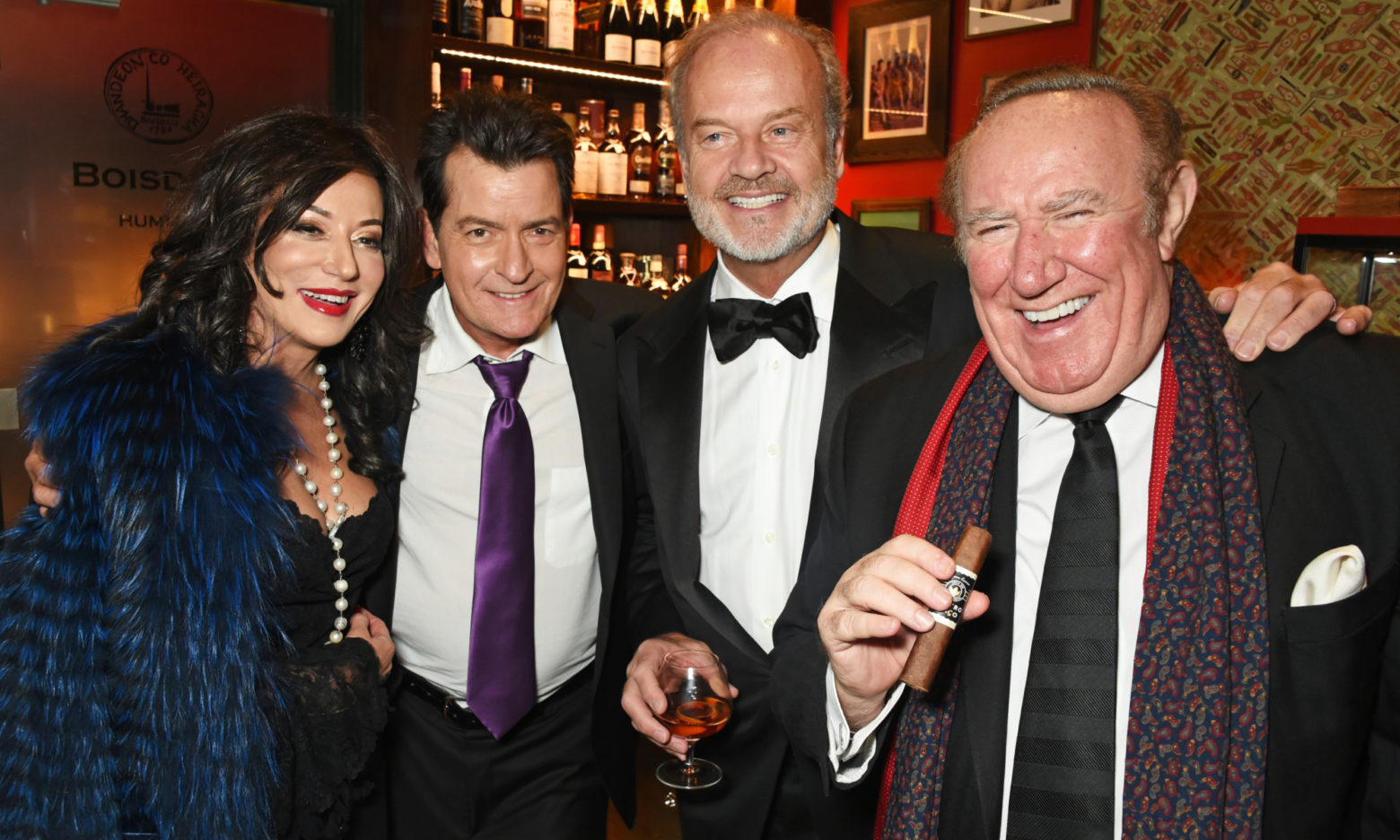 Kelsey Grammer Crowned Snow Queen Cigar Vodka Smoker Of The Year 2016