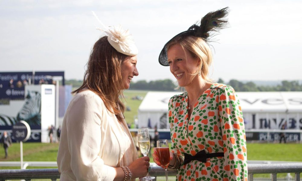 The Boisdale Enclosure At The Epsom Derby Festival