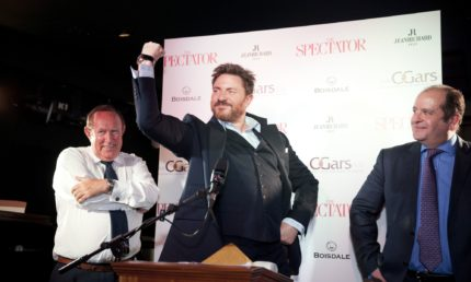 Duran Duran's Simon Le Bon Crowned The Spectator Cigar Smoker Of The Year