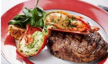 Three Course Lobster & Steak Menu £30