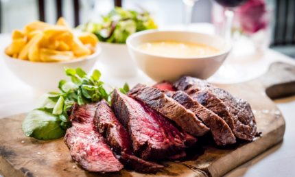 Char Grilled Prime Dry Aged 'chateaubriand' + Sauce + 2 Sides + 2  Glasses Of Prosecco £90 For 2