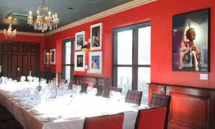 Four Private Dining Rooms For Hire