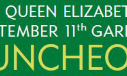 An Invitation To The Queen Elizabeth Ii September 11th Garden Luncheon