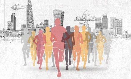 London Marathon 2021 Brunch at Boisdale of Canary Wharf